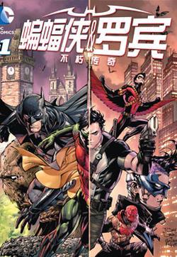蝙蝠侠与罗宾:不朽传奇v1的封面图