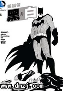 蝙蝠侠 黑与白的封面图
