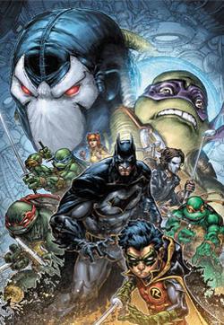 蝙蝠侠/忍者神龟V2的封面图