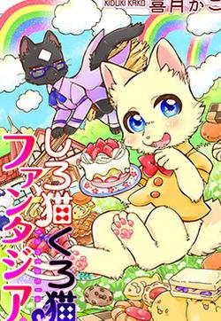 黑白猫咪幻想曲的封面