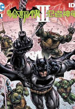蝙蝠侠/忍者神龟V3的封面图