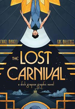 失落的狂欢节 迪克·格雷森图像小说的封面图