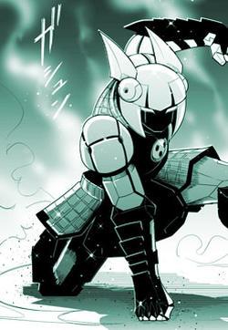 鐵人磨弓漫畫封面