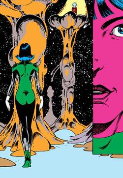 阿兰·摩尔的绿灯故事的封面图
