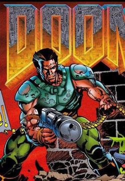 《毁灭战士(DOOM)》官方漫画的封面图