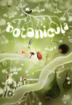 《植物精灵》数字画集的封面图
