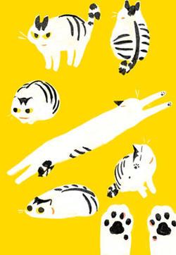 和猫在一起生活的日记的封面图