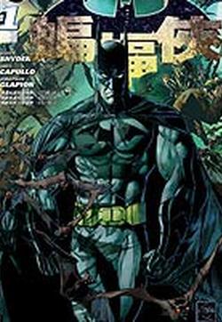 新52蝙蝠侠的封面图