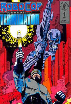 机械战警大战终结者的封面图