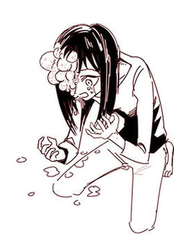 女孩与面疮的封面