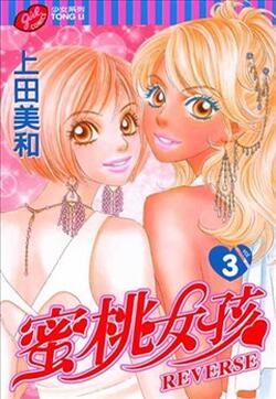 蜜桃女孩漫迷手册的封面图